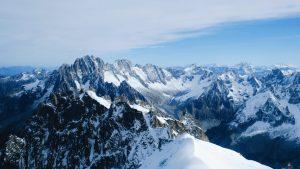 montagne pour randonnée